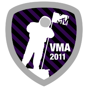 MTV Moonman Badge Video Music Awards 2011